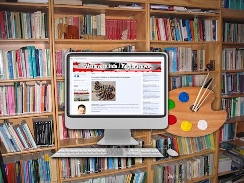 Cursus website bouwen in bibliotheek klazienaveen nieuws - Te bouwen zijn bibliotheek ...